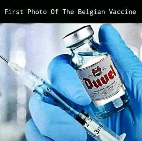 """De Tijd on Twitter: """"Hele wereld ontdekt Puurs: 'Drink Duvel, dat maken ze  van hetzelfde water als het vaccin' https://t.co/BKPKxqbAhz"""""""