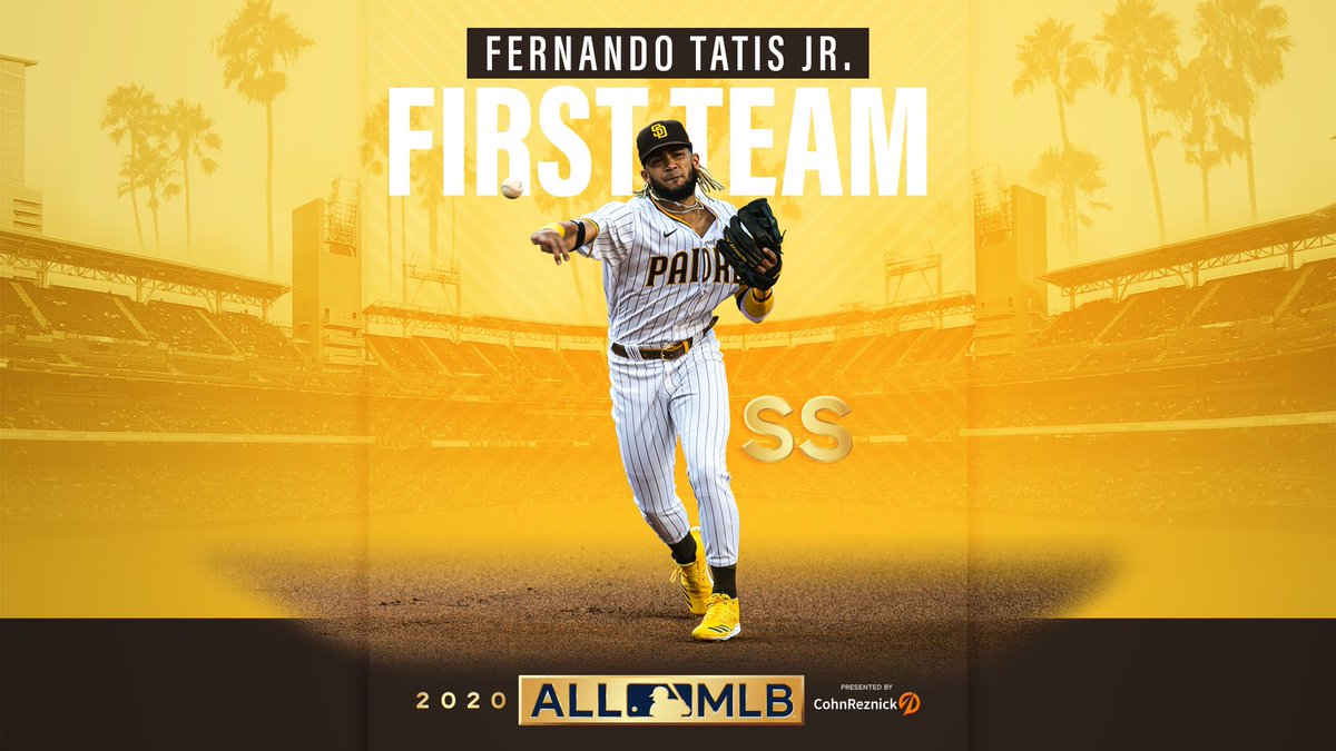 No doubt Niño was First Team All-MLB. 👏