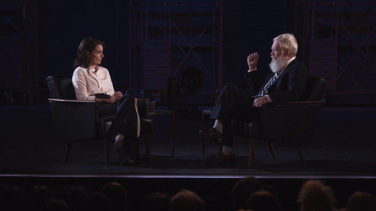 #MyNextGuestNeedsNoIntroduction con David @Letterman - #TinaFey
