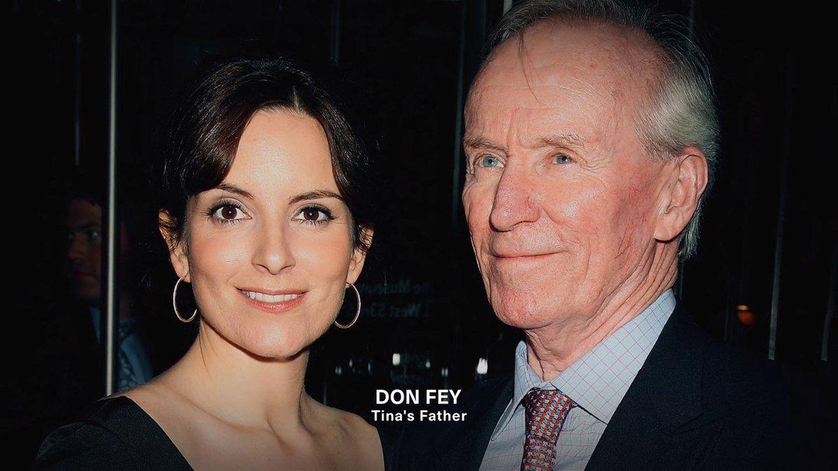 #MyNextGuestNeedsNoIntroduction con David  @Letterman - #TinaFey - Con su papa Don y su mama Zenobia
