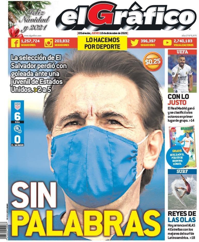 9-12-2020 - Amistoso El Salvador 0 Los Estados Unidos 6. Eo2wQYbXIAAYOtU?format=jpg&name=medium