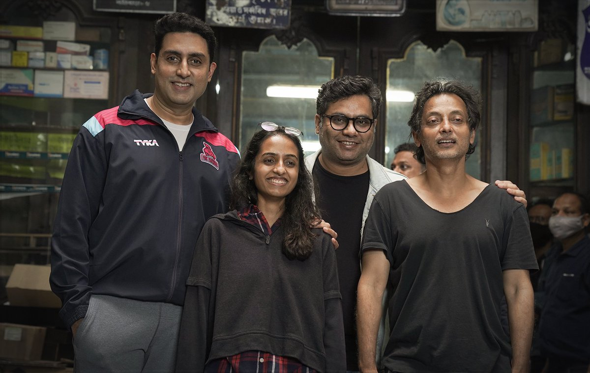 Music & Movies: @RedChilliesEnt: 'It's a wrap on a very special film! #BobBiswas will 👓 you soon.  @juniorbachchan @ghosh09 @sujoy_g @_GauravVerma #BoundScriptProduction ' , see more