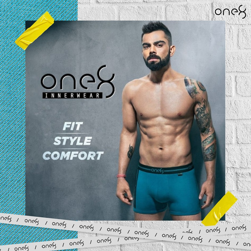 100% super combed cotton fabric makes #one8Innerwear comfortable in any situation, all day long 👌. #one8