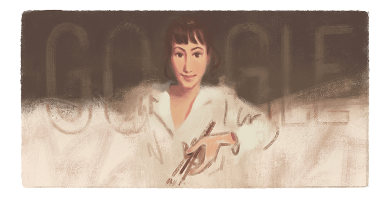 A #GoogleDoodle for 20th-century Russian painter Zinaida Serebriakova🎨  Renowned for her joyful realist style, Serebriakova left a lasting mark on her nation's culture through masterful paintings of the contemporary life & landscapes of her homeland →