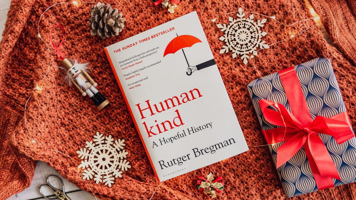 Humankind: A Hopeful History by Rutger Bregman  ⭐ The Sunday Times and New York Times bestseller  ⭐ A Guardian, Telegraph, and New Statesman Book of the Year  ⭐ 'Hugely, highly and happily recommended' – Stephen Fry  ⭐ 'The book we need right now' – Daily Telegraph