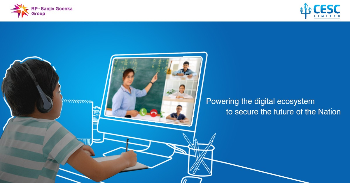With the pandemic changing the world like never before and education getting migrated completely to the digital space – we are committed to support the changing needs of the society and to secure the future of our next generation.  #cesc #cesclimited #power #onlineeducation https://t.co/h4cfekTLRk
