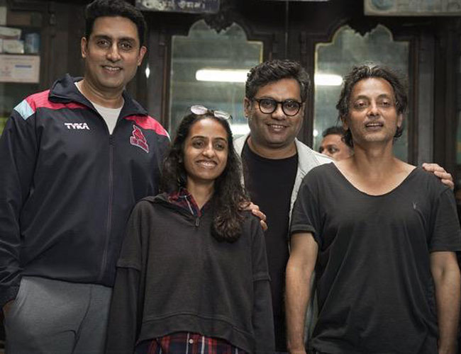 It's a wrap for #BobBiswas!   @juniorbachchan @ghosh09 @sujoy_g @_GauravVerma #BobBiswas #BoundScriptProduction @RedChilliesEnt  #bollywoodcelebs #trendingnews #downloads #santabanta For More visit: