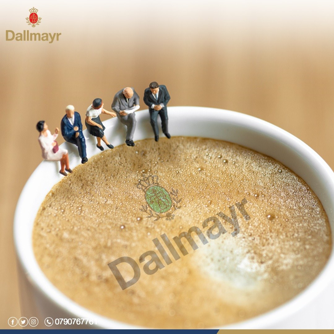 DALLMAYR COFFEE IS MY FAVORITE CO_WORKER… ☕💻 #Dallmayr #coffeeholic #coffee #coffeeshop #mornings #goodmorning #internationalcoffeeday
