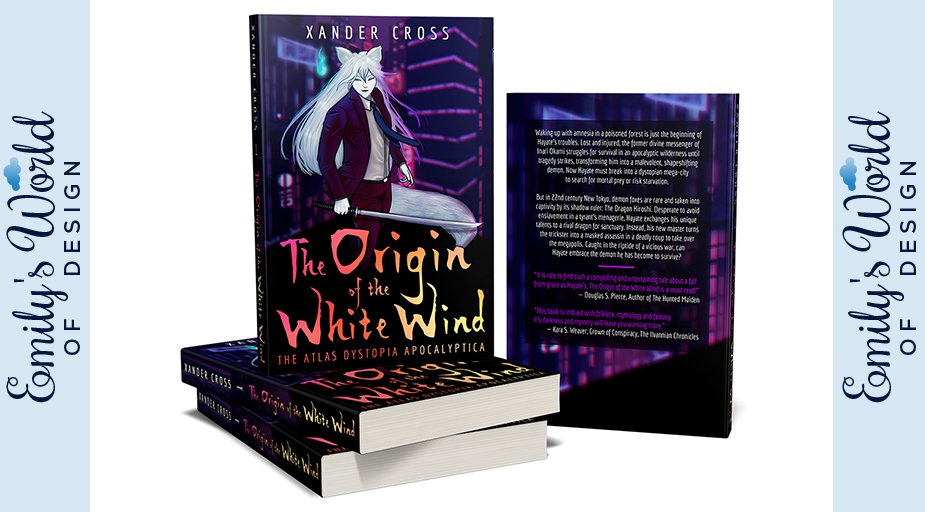 Xander Cross The Origin of the White Wind Title design by Emily's World of Design