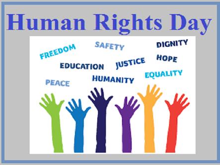 इंसानी अधिकारों को पहचान देने और बजूद को अस्तित्व में लाने के लिए जारी हर लड़ाई को #मानवाधिकारदिवस ताकत देता है। 10 दिसंबर को दुनियाभर में #अंतररष्ट्रीयमानवाधिकारदिवस यानी #यूनीवर्सलह्यूमनराइट्सडे मनाया जाता है।। आप सभी को मानवाधिकार दिवस की ढेरों शुभकामनाएं। #HumanRightsDay2020