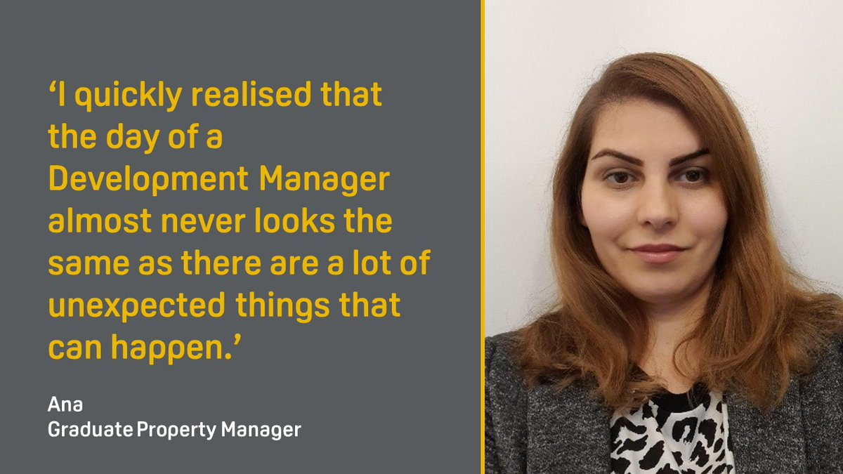 We catch-up with Ana Poinau, one of our 2020 graduates, as she reflects on her shadowing week with one of our Development Managers. #FirstPortPeople #Careers #Graduates