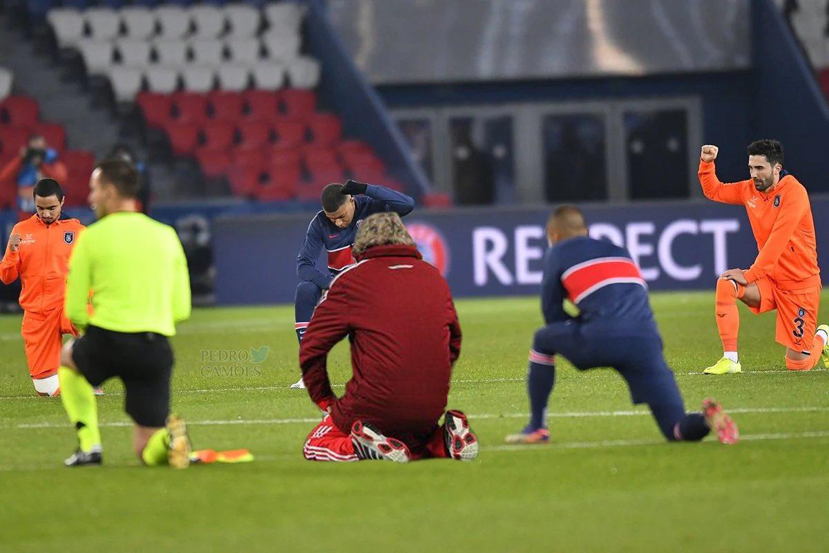 JJ solidário com os jogadores do Paris Saint German e do Basaksehir https://t.co/K8WdePj1E8