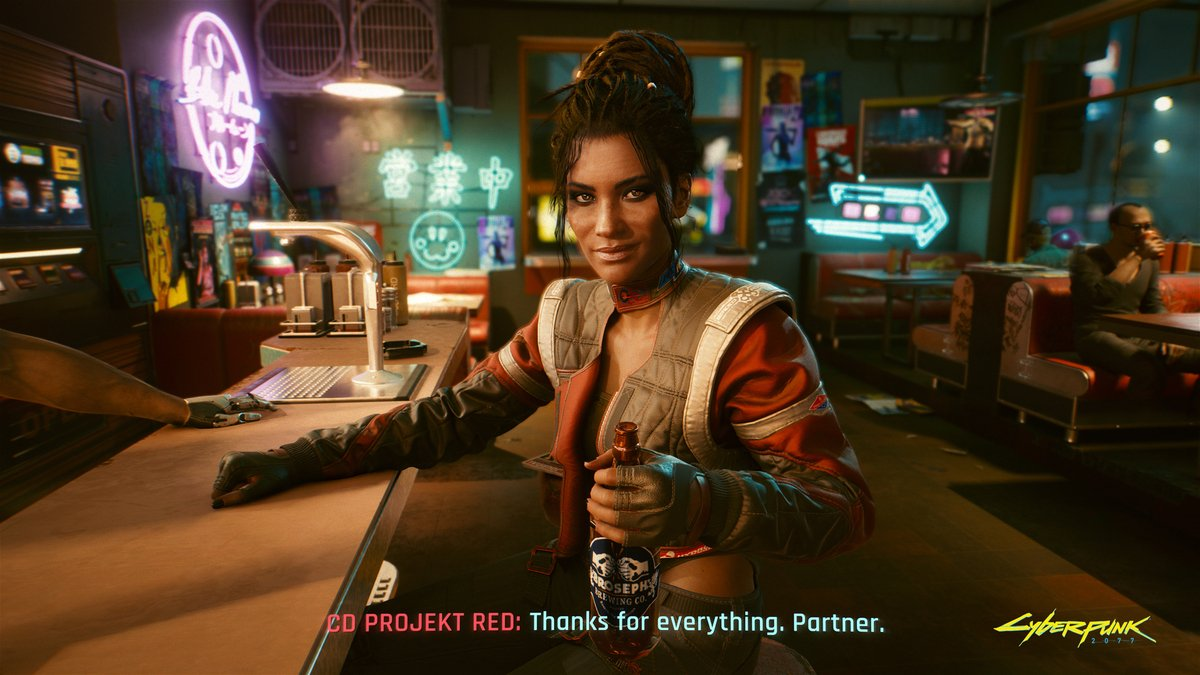 We are truly humbled that so many of you trusted us and decided to support #Cyberpunk2077 before the release! Even 8 million thank yous isn't enough! The journey has just begun and we are hard at work on the upcoming fixes and updates to the game. See you in Night City!