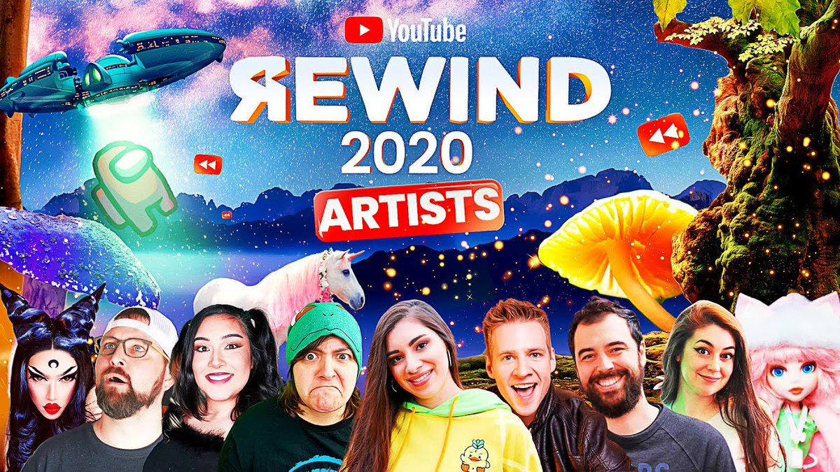 YouTube Rewind Artists Edition is now available to watch here:  . @PhillyD @SusanWojcicki @YouTube @YTCreators