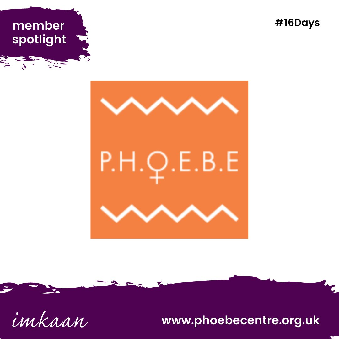 Since 2008, @PHOEBEIPS has been helping Black and Minoritised women and children across Ipswich and beyond. We are a specialist women's charity helping domestic violence victims and offer a variety of services.  #16Days #16DaysOfActivism