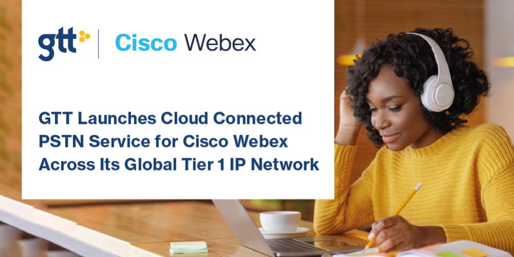 GTT lanserar Cloud Connected PSTN-tjänst för Cisco Webex över sitt globla Tier 1 IP-nätverk https://t.co/CqgE4tL3er https://t.co/ZVTdM6RfuE