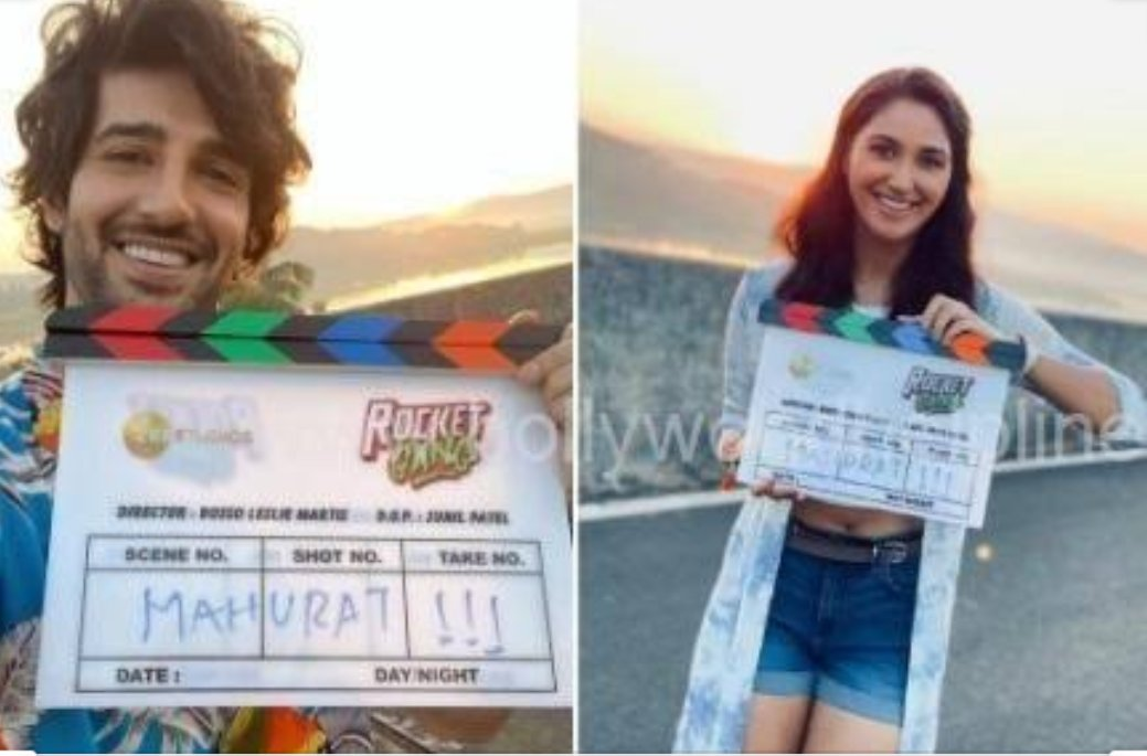 @nikifyinglife di A new year brings not only happiness, 2020 New Beginnings shooting The #RocketGang is set to blast off your mid-week blues Directed by @BoscoMartis iss baar #NachogeTohBachoge #ShootBegins #BackInAction So a new year is very special to everyone Congratulation 🌹