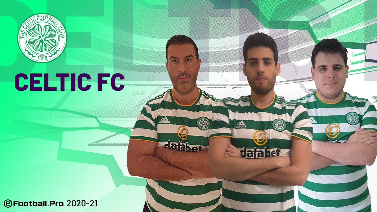 @ManUtd @GSEsports @FCBeSports @fcbayernesports @juventusfc @ETTORITO @ildistruttore44 @LoScandalo_10 @Arsenal @ASRomaEsports @TheSVenom @kepapfc 🍀@CelticFC will be represented in  by @jorcha5_ once again, this time with @umbee96_ and @PataNegra_7 by his side  #PES2021 #eFootballPro #CelticFCEsports