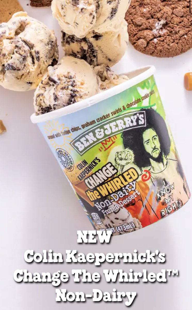 Replying to @darrenrovell: Ben & Jerry's announces new flavor...
