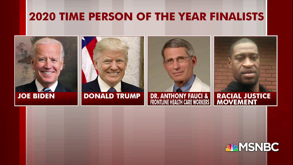 Here are the finalists for Time's 2020 Person of the Year: