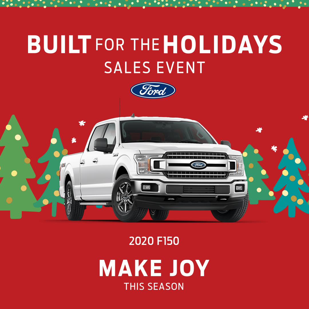 Spread holiday cheer and make joy this season when you shop our Built for the Holidays Sales Event! Find deals on all of these models when you visit your Southern Quality Ford dealer. https://t.co/RMKJCqQCHh https://t.co/pOYTXzc4xM