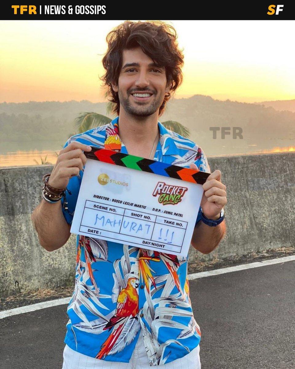 @AdityaSeal_ kick starts shooting for his next project #RocketGang.  #TheFilmyReporter #FilmyReporter #TFR #TFRBuzz #TFRIndia #Bollywood #Actor #AdityaSeal