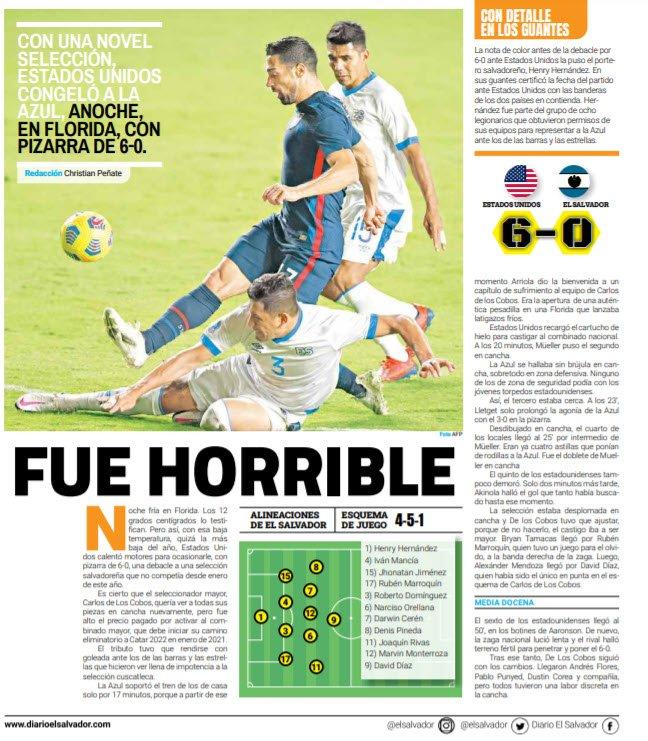 9-12-2020 - Amistoso El Salvador 0 Los Estados Unidos 6. Eo4bnXeW8AImh01?format=jpg&name=900x900