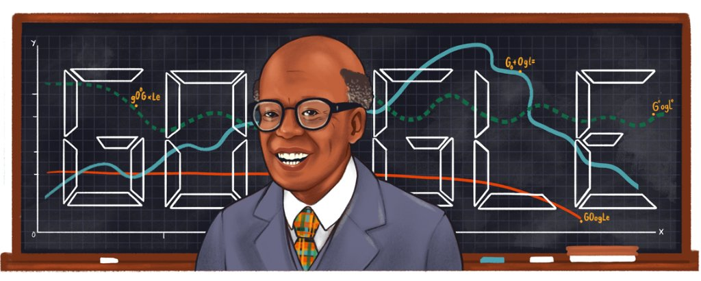 St. Lucian economist, professor, & author Sir W. Arthur Lewis is considered not only a pioneer in modern development economics but also a trailblazer for the Black community in academia 📚  #GoogleDoodle 🎨 by guest artist @thecamru  →