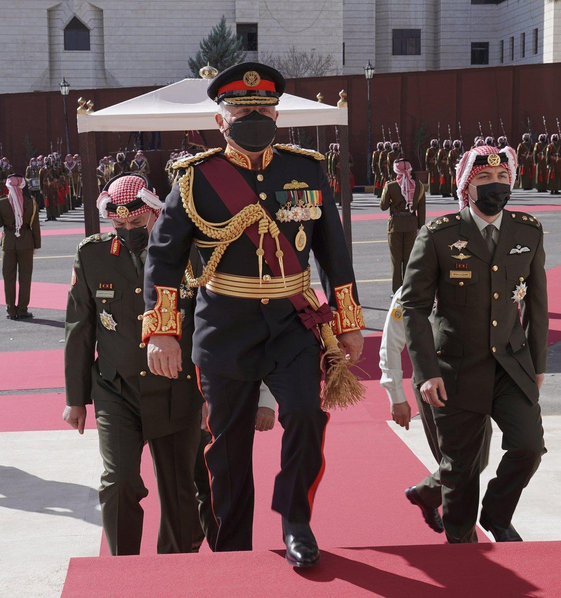 جلالة الملك عبدالله الثاني يفتتح الدورة غير العادية لمجلس الأمة التاسع عشر #خطاب_العرش #الأردن  His Majesty King Abdullah II inaugurates the 19th Parliament's Non-ordinary Session #SFTT2020 #Jordan