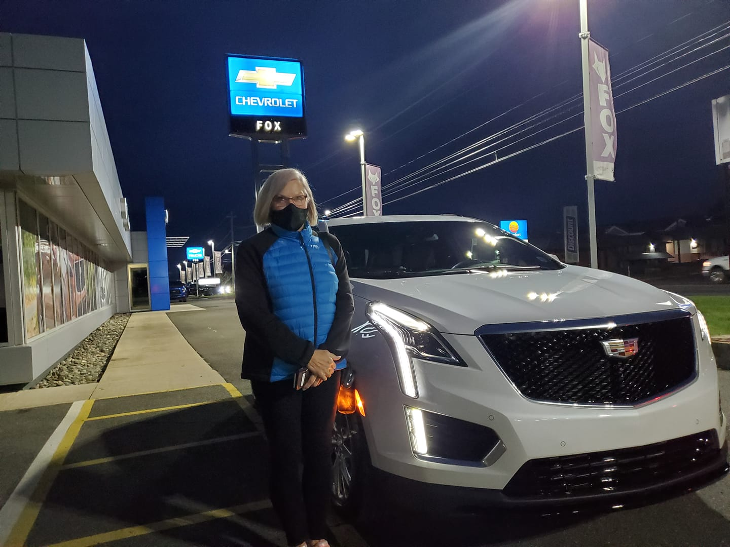 Fox Chevrolet Cadillac On Twitter We At Fox Chevrolet Cadillac Would Like To Congratulate Charlene On Driving Home A Beautiful New Cadillac Xt5
