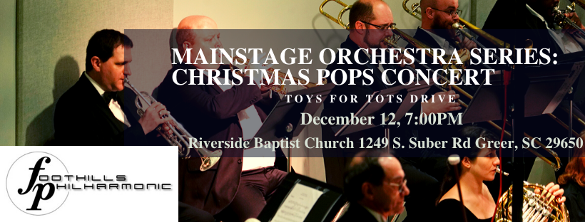 Join us for a free Christmas Concert! -