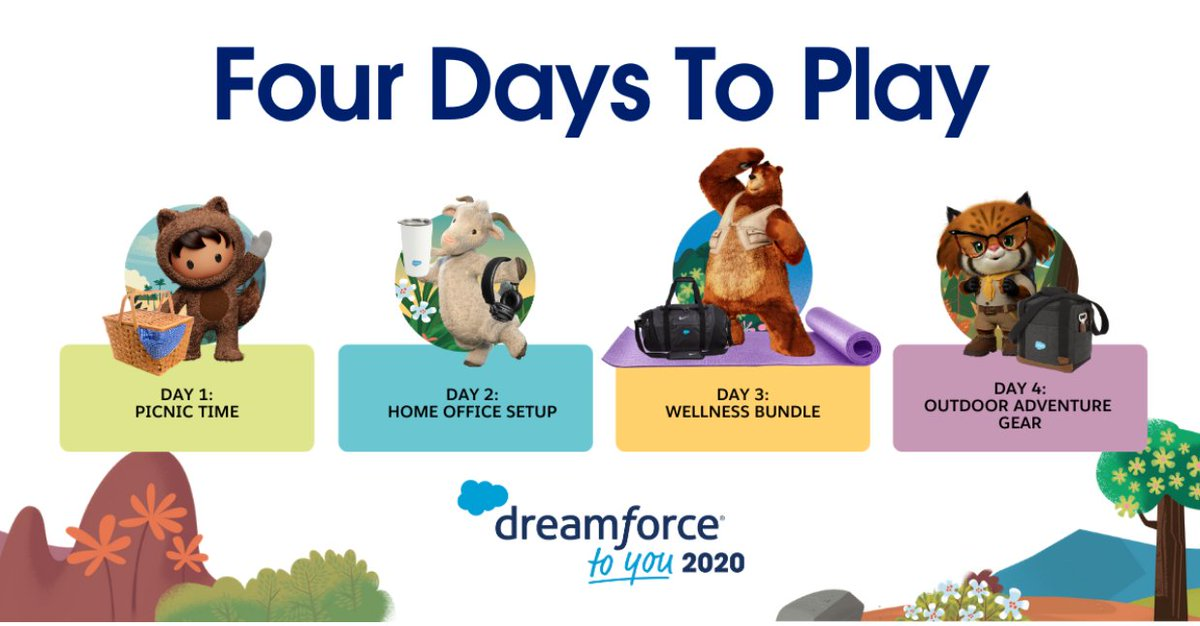 During the four days of #DreamTX, tweet a screenshot of an AppExchange listing and tag us with #sweepstakes for a chance to win app-tastic prizes.   Get started:   See official rules: