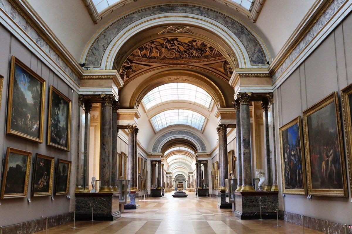 ⚠️ Conformément aux directives gouvernementales, le musée du #Louvre et le #MuséeDelacroix sont fermés jusqu'à nouvel ordre.  👉Les visiteurs ayant acheté un billet pour cette période seront remboursés automatiquement. Nous vous remercions de votre compréhension.