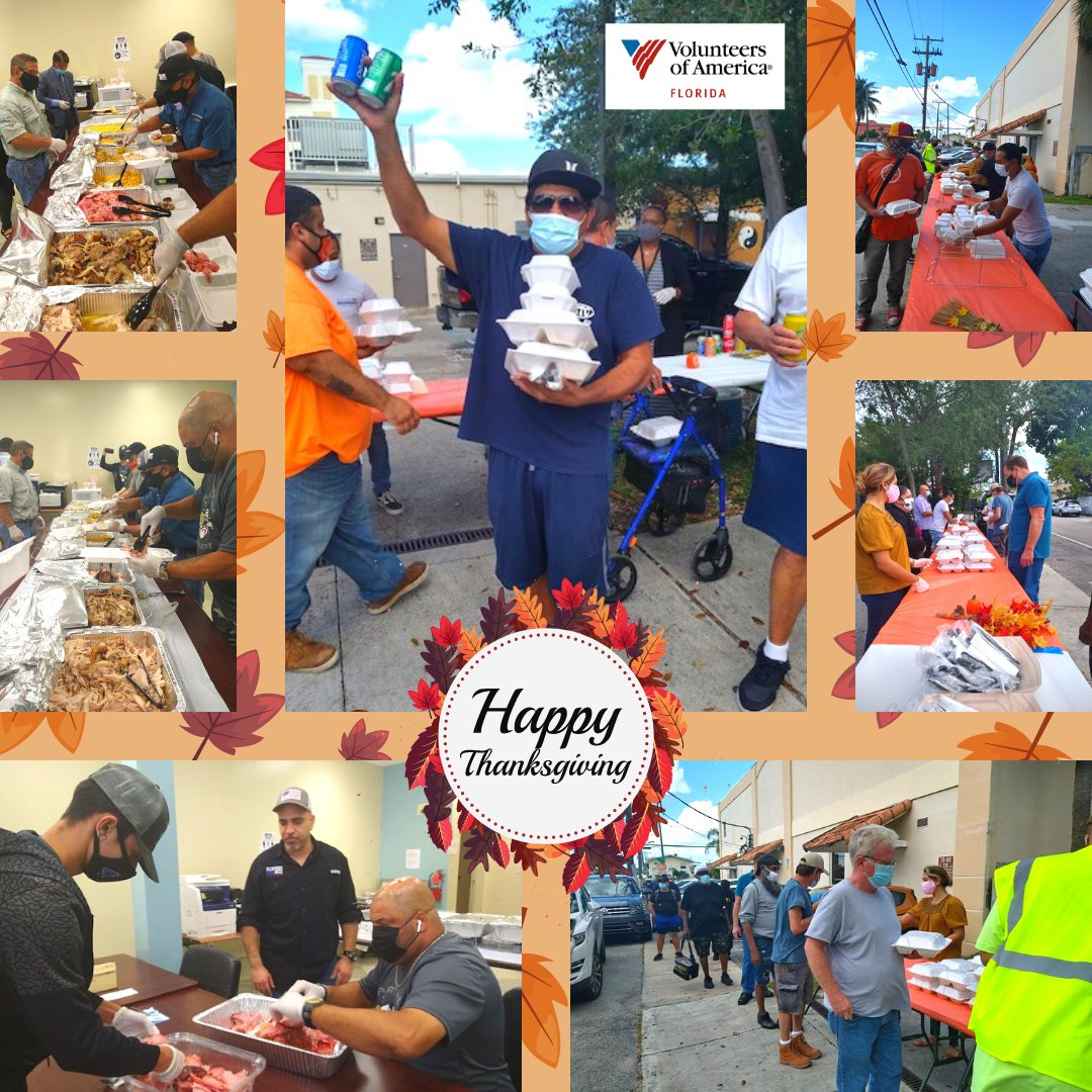 #VOAFL Miami participants enjoyed a beautiful meal for the 4th year in a row thanks to Fallen Heroes United.  We are truly grateful for all that you do for Floridians in need. Your energy, passion and big hearts have us all feeling special!    #Miami #GiveBack #happythanksgivng