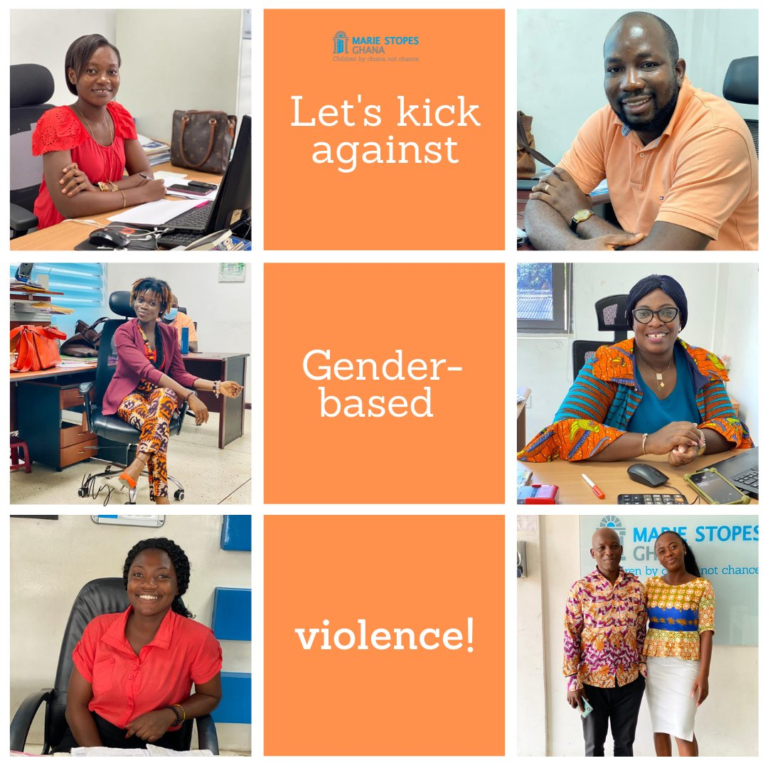 We remain resolute that until efforts to amplify the voices of women in our society is increased, they will continue to endure violence in silence. Let's come together to kick against gender-based violence in Ghana. #16Days  #16DaysofActivism2020 #OrangeTheWorld