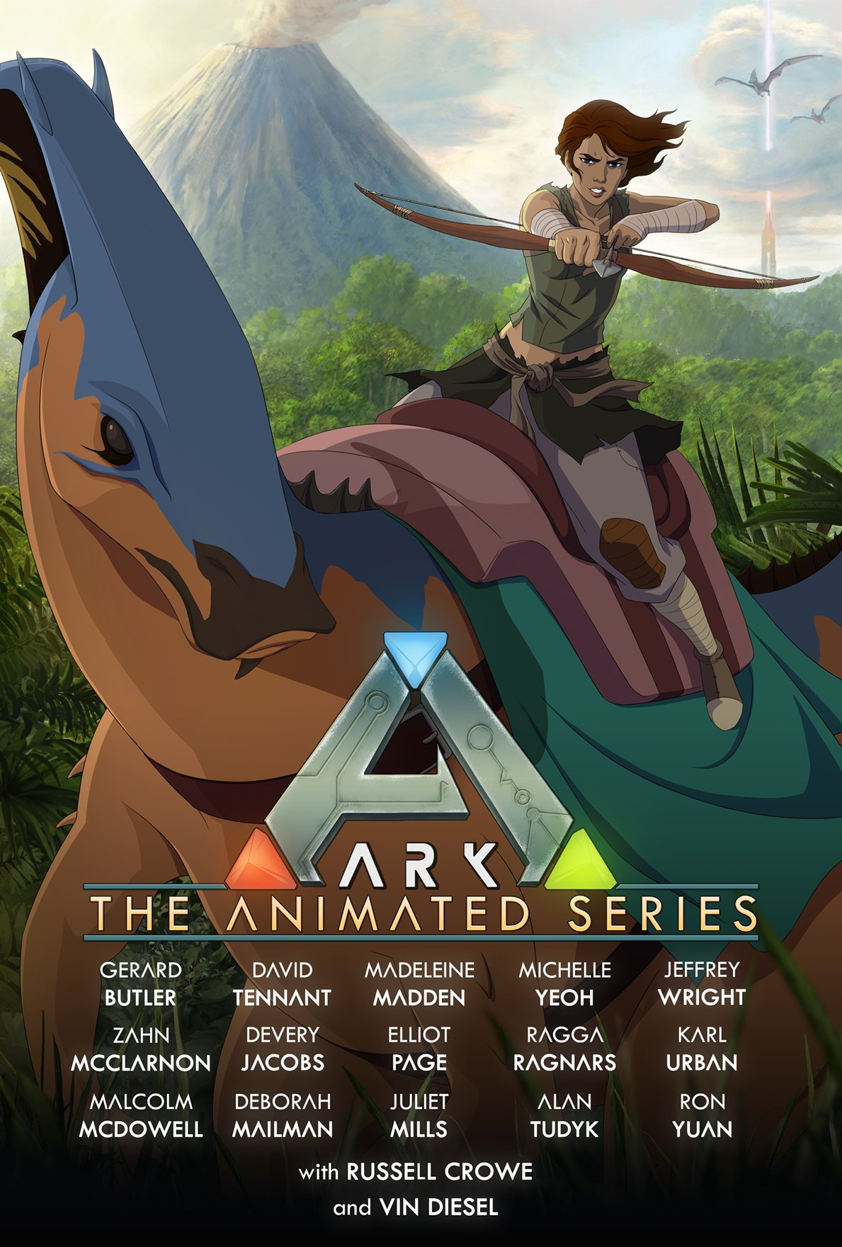 El doblaje de la serie animada de ARK cuenta con un gran reparto de Hollywood