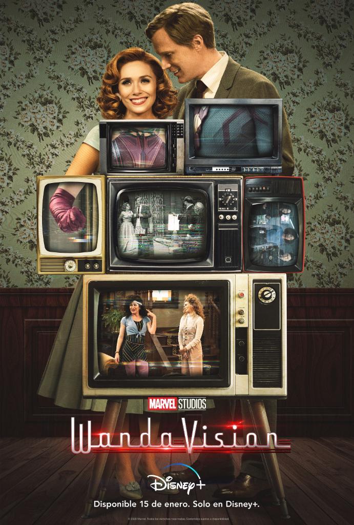 Una nueva y visionaria era de la televisión está a punto de empezar. WandaVision, una serie Original Disney+, estreno 15 de enero. Solo en #DisneyPlus. https://t.co/FqJ0fBQVZZ