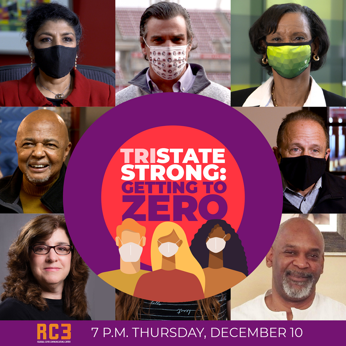 Everyone has the power to do SOMETHING. Tune in TONIGHT at 7 p.m. to #TriState Strong: Getting to Zero to be inspired by how your neighbors & familiar faces from health care, media and business have pulled together https://t.co/nUAbZlSMEK #TriStateStrong #GettingToZero https://t.co/LUvE1p6nYz