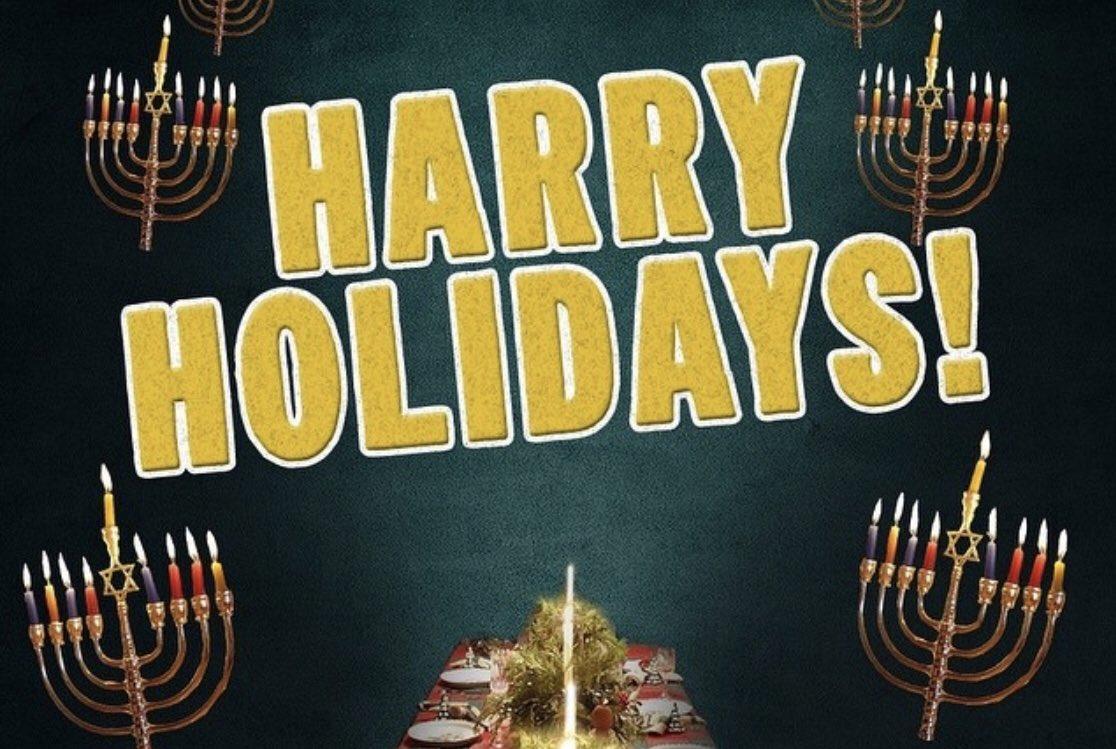 Harry Holidays Everyone!