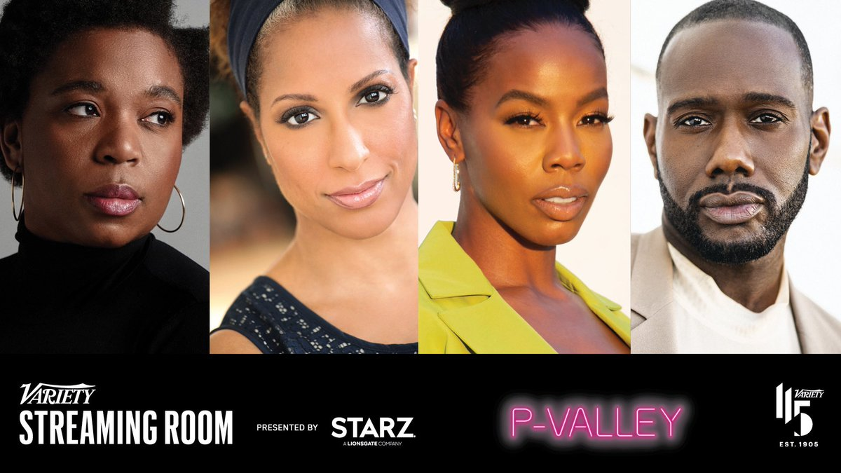 Come on down to the #VarietyStreamingRoom TONIGHT for an exclusive Q&A with yours truly, @AllDayNicco, @Therealbrandee & @1wildchld! We're screening and discussing highlights from Season 1 of #PValley on December 10. Link here: