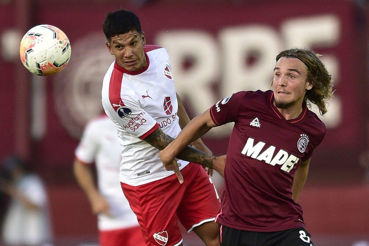 FINAL DEL PARTIDO! Un tibio #Independiente empató 0-0 frente a Lanús en La  Fortaleza, por el partido de ida de los...   Fútbol-Addict