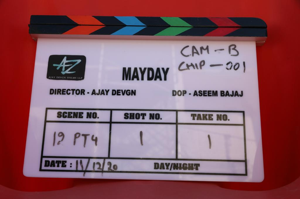 We've officially began May Day.🎬 releasing April 29th, 2022!  @SrBachchan @Rakulpreet   @KumarMangat @Meena_Iyer @sandeep_kewlani @hasnain_husaini @Vicky1980 @dharmendraedt