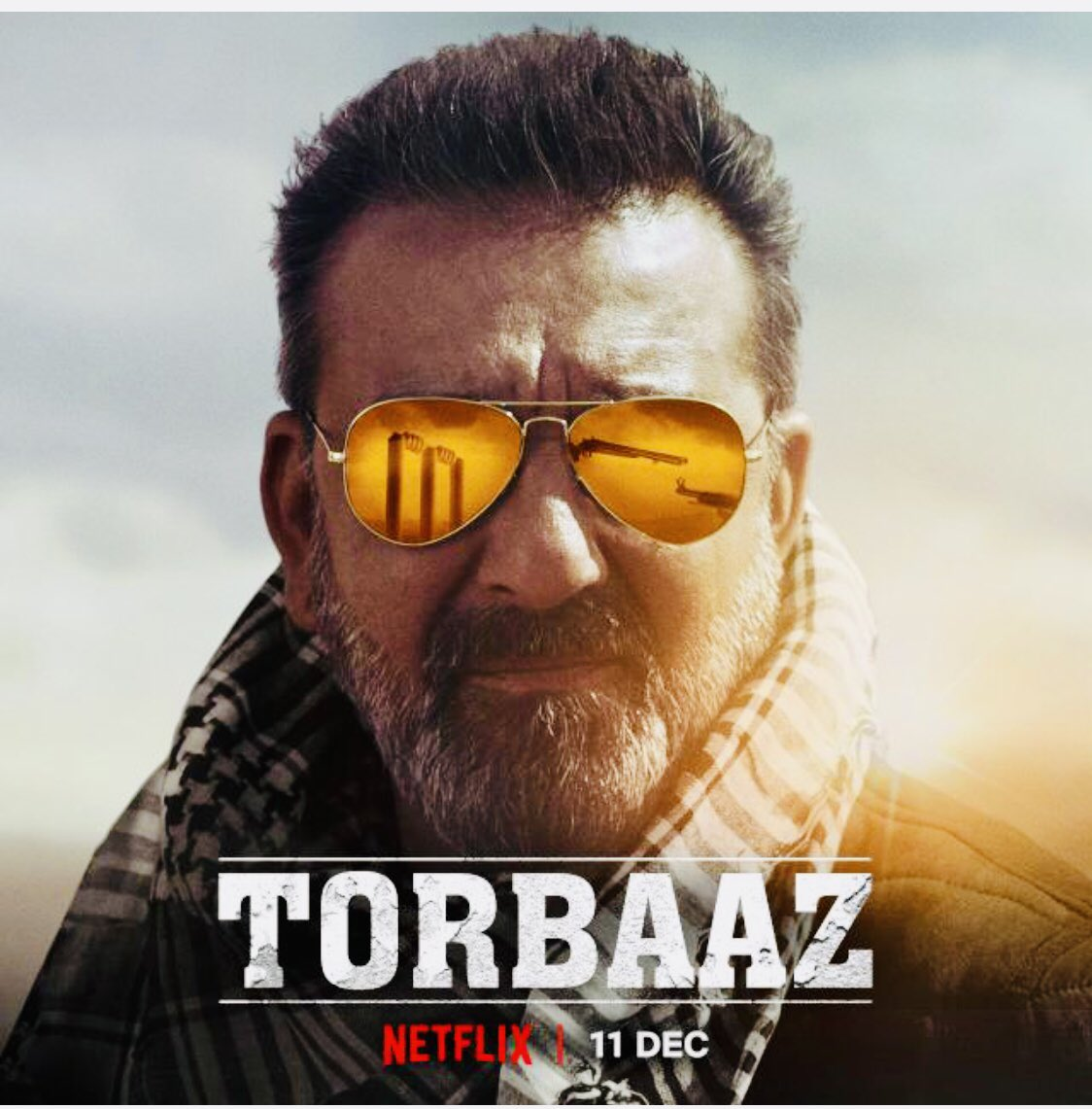 Their only purpose was to die for someone else's ideals. Until he brought them something bigger. #Torbaaz, with a stellar cast of @duttsanjay, @RahulDevRising & @NargisFakhri is premiering today, 11 December, only on @netflix !! @malik_girish!