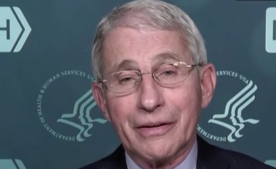 Fauci: Masks Need to Stay On Until At Least June and Only if Americans Take the Vaccine  Eo7OMMtW4AMUYnt