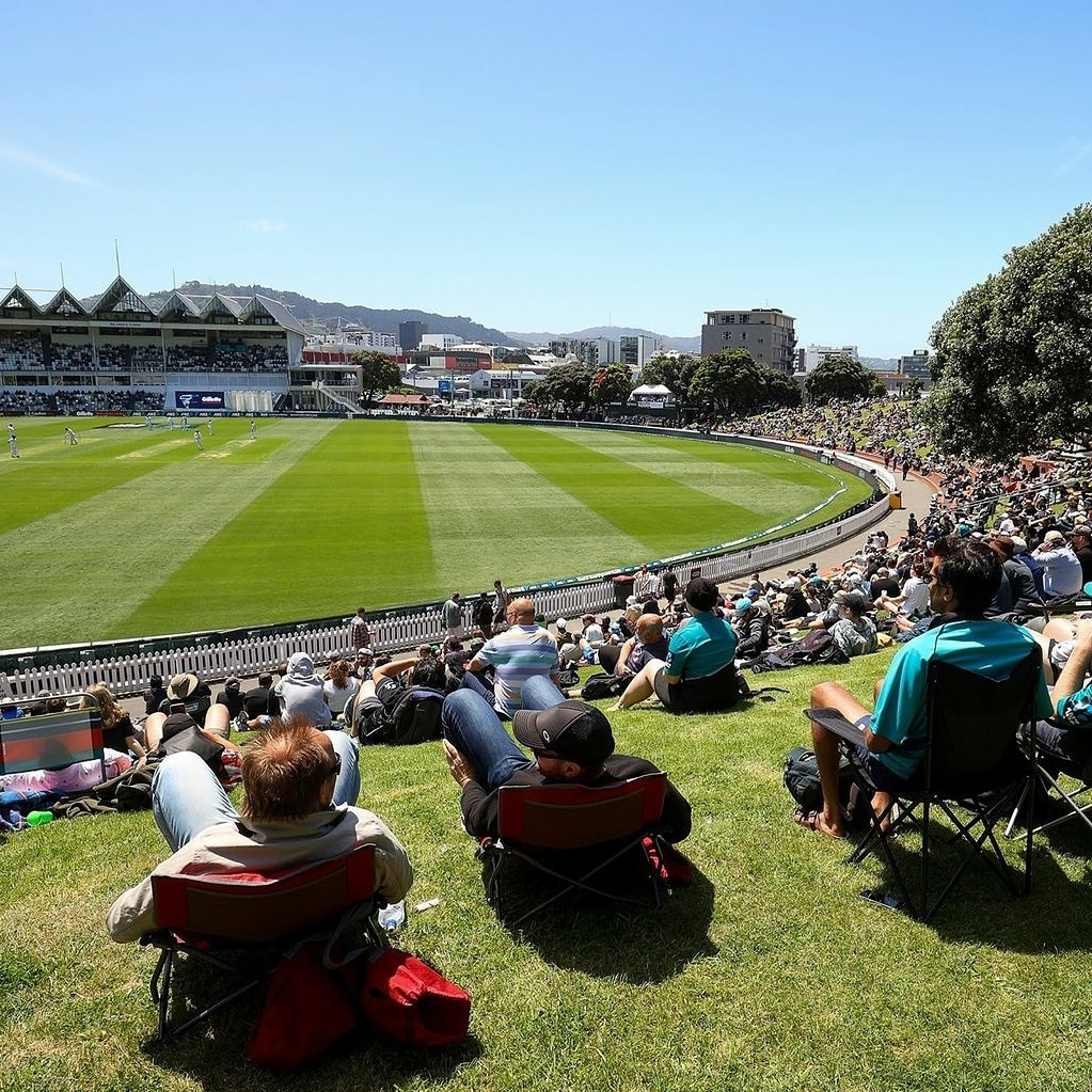 Great to see crowds back in test cricket in Newzealand today ..westindies play the home team at basin reserve ...the game needs this @bcci