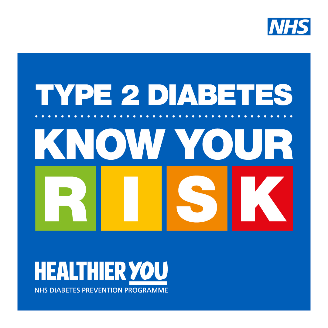 Type 2 diabetes can be a very serious health condition.    Find out if you are at high risk of developing the disease, so that you can do something about it with support from your free local Healthier You service: https://t.co/FsbfoV52YS – it's free and only takes a few minutes.