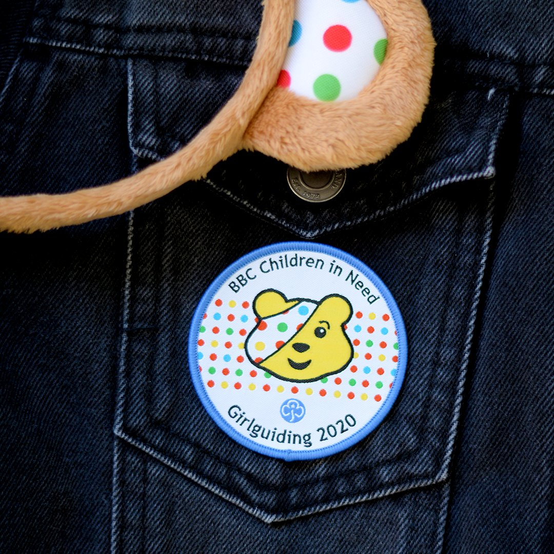 We still can't get over the Pudsey badge @Girlguiding 😍😍😍 Get yours at ️👇 girlguidingshop.co.uk/products/badge…