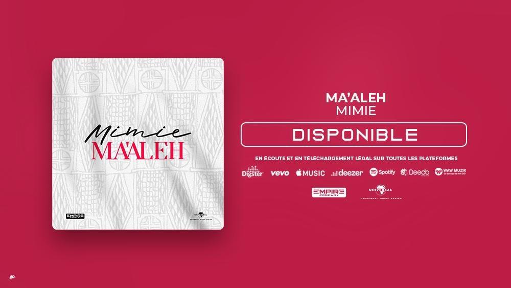 """« 𝐌𝐀'𝐀𝐋𝐄𝐇 » le nouveau single de @mimieofficielle extrait de son prochain album est MAINTENANT DISPONIBLE sur toutes les plateformes !!   Choisis ta plateforme et écoute la """"magie"""" 🔥🔥  https://t.co/dtelnHdvbq https://t.co/03ABSaFBnJ"""