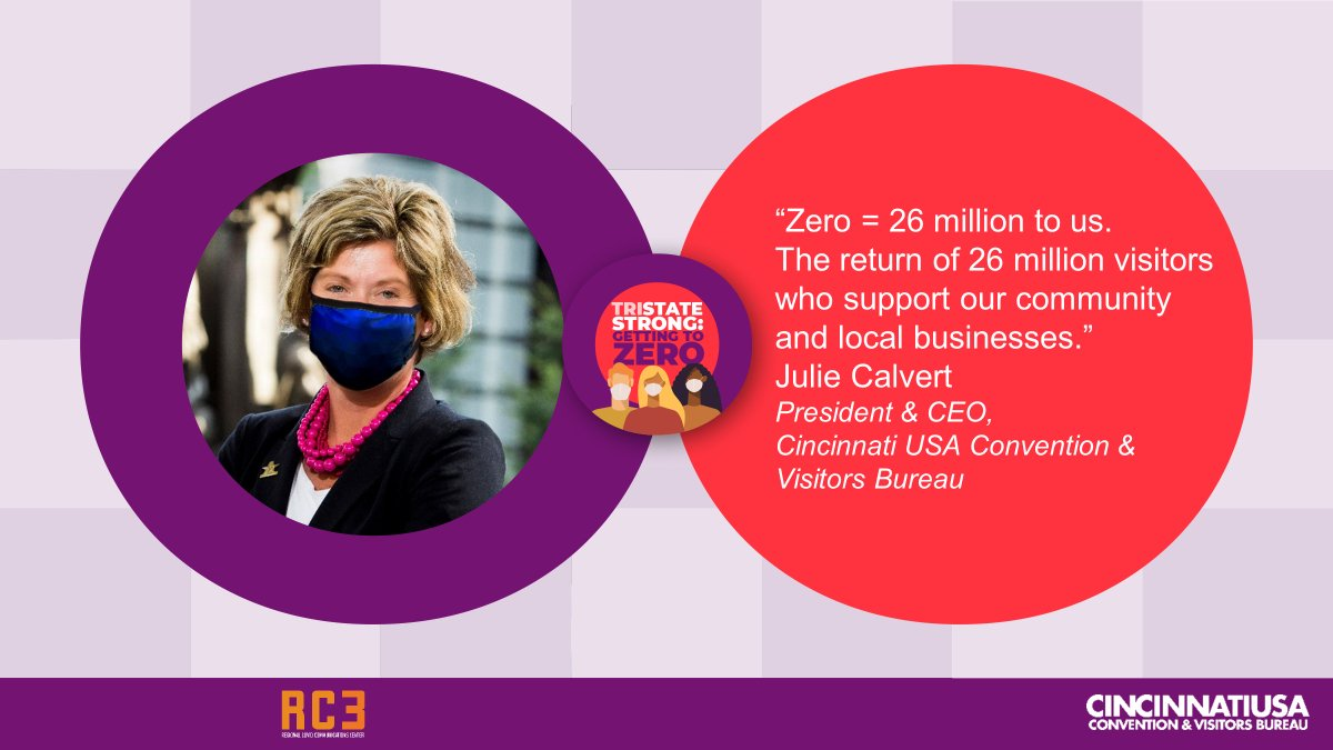 """""""Zero = 26 million to us. The return of 26 million visitors who support our community and local businesses."""" - @Julie_Calvert, President & CEO.  Learn more at https://t.co/O4lp7zQclK   #GettingtoZero #TriStateStrong https://t.co/YH0l6sFhNa"""