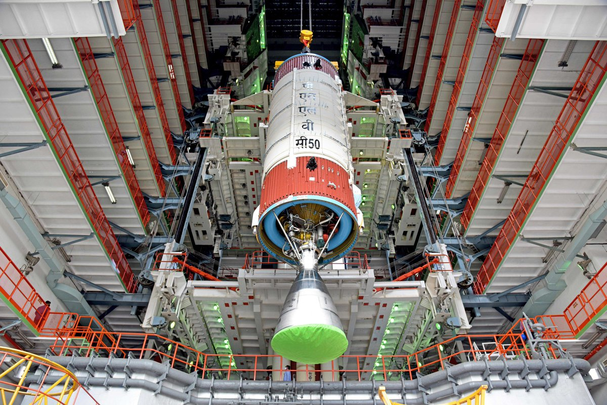 PSLV-C50 is scheduled to launch CMS-01, a communication satellite on December 17, 2020 from Satish Dhawan Space Centre SHAR  Read more at   Stay tuned for more updates